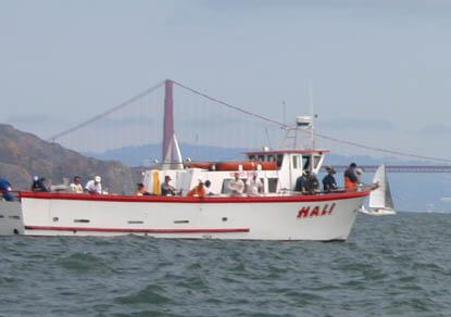San francisco fishing charter boats san francisco for Sf bay halibut fishing