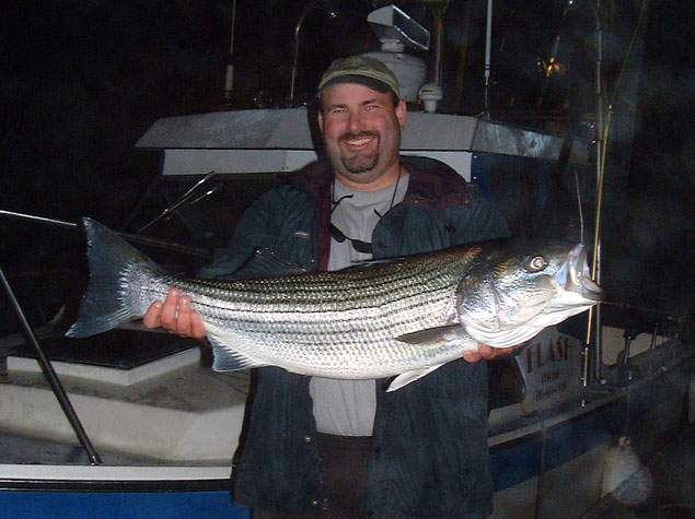 Fishing for stripers striped bass fishing guides and for Fishing for stripers