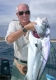 SPORTFISHWORLD FISHING PHOTO   MEXICO   FISH SPECIES   Roosterfish    Bill with a Roosterfish caught with the Fishermen's Fleet at La Paz!   SportfishWorld © 2003 Bob Fisher
