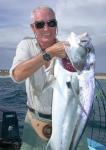 Fishing in Baja for ROOSTERFISH