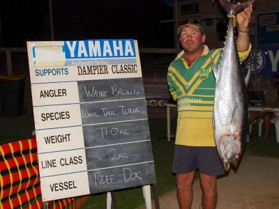 Fishing the 2005 Dampier Classic