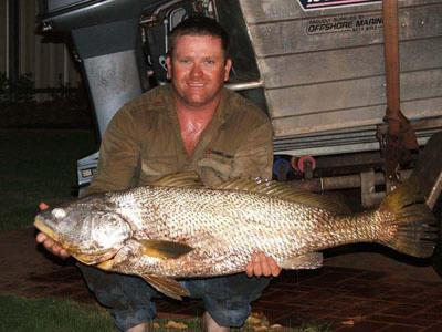 Fishing for Port Hedland Mulloway