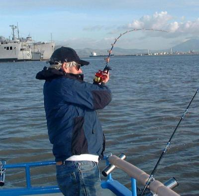 Mothball fleet sturgeon 27th january 2006 usa california for Fishing report delta