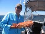 Coral Trout: Beau with a Coral Trout. Beau Cartledge's fishing photos. &COPY SportfishWorld