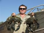 Fishing the Northern Territory Kakadu  Mud Crab Shane Baker: MUD CRABS at the South Alligator River, Kakadu National Park, Northern Territory Australia. Bob Fisher's SportfishWorld &copy