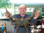 Crab, Mud: A nice Port Hedland Mud Crab. Another Shane pic.. Shane Baker's fishing photos. &COPY SportfishWorld