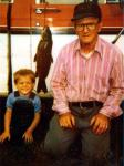 Carp: Grandpa and Sean in 1988. (A Reif Family Photo)
