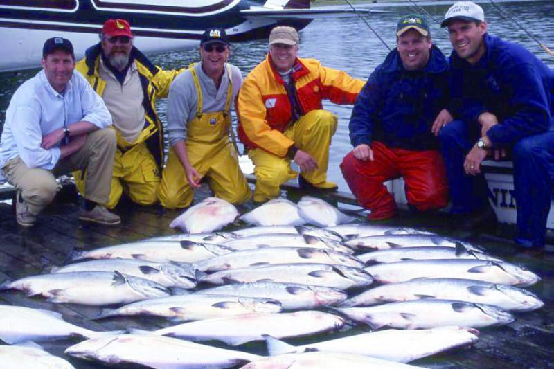 WORLDWIDE SPORTFISHING PHOTOS, Canada,  Chinook Salmon, A very nice Vancouver Island Catch!