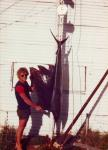 Sailfish: My first Sail at Exmouth, Sept 1979. Rusty. Russell Stone's fishing photos. &COPY SportfishWorld