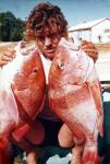 Emporer, Red: My 1st Reds at Exmouth, 1979 Tantabiddy Stn. Russell Stone. Russell Stone's fishing photos. &COPY SportfishWorld