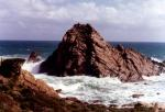 Australia Panorama Australian Fishing Panorama I took these photos of Sugarloaf Rock in the late 1970's. Sugarloaf Rock is on the South West Coast of Western Australia. Bob Fisher Photos SportfishWorld Copyright. Bob Fisher's SportfishWorld &copy