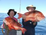 Emporer, Red: Gordon and Mary Smith with thier first ever Reds