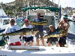 WORLDWIDE SPORTFISHING PHOTOS Mexico   Dorado Thanksgiving 2008 fishing Cabo San Lucas with my brother and son we caught 7 nice Dorado. John Nunnery Bob Fisher's SportfishWorld ©