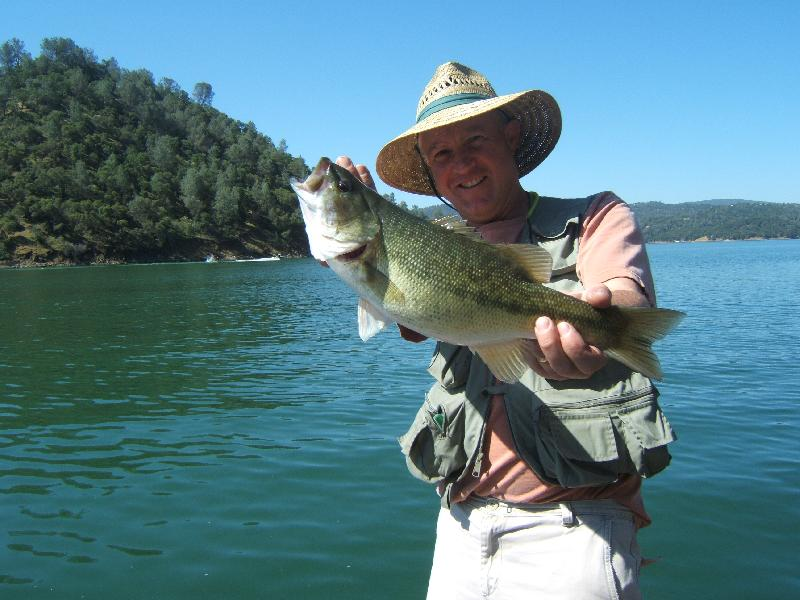 Fishing Photo - Hey Bob, Caught some good fish today~~~got this one on a whacky hook sinko... Fish God... (Scott Flotre, Lake Berryessa, Napa County) -SportfishWorld &copy Copyright 2003 All rights reserved